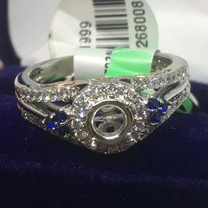 Jewelry - Beautiful 14k White Gold Engagement Ring Setting